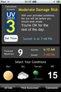 UV Index App