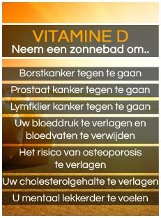 De voordelen van Vitamine D
